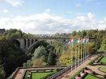 Adolphe Bridge and Place de la Constitution, Luxembourg